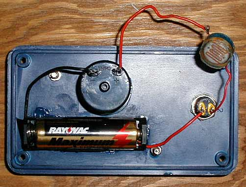 how to build a light meter